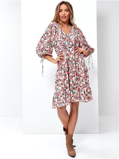 Sonder Studio ditsy floral smock dress