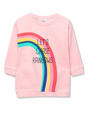 Slogan rainbow jumper dress (9mths-5yrs)