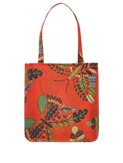 Totes butterfly print folding shopping bag