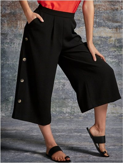 Sonder Studio button side culottes