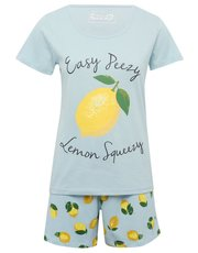 Lemon short pyjama set