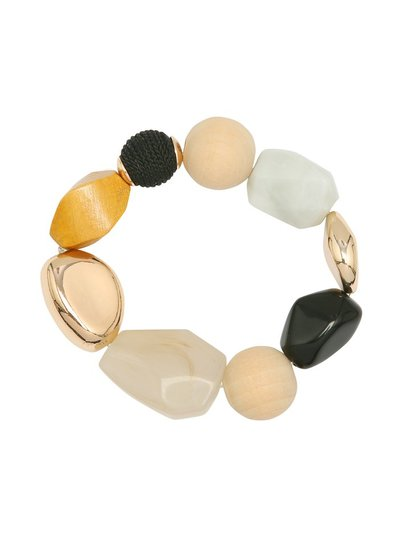 Muse pebble stretch bracelet