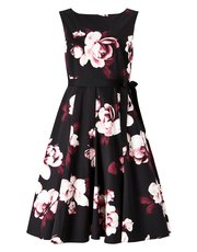 Precis Dana printed flared dress
