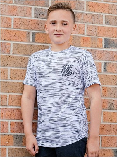 DFND space dye t-shirt (5 - 13 yrs)