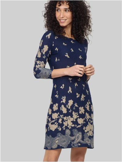 Izabel floral shift dress