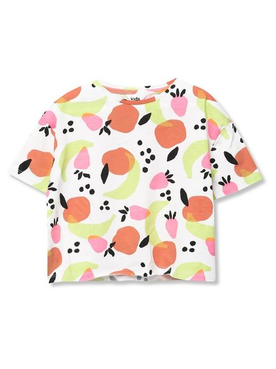 Fruit print t-shirt (3-12yrs)