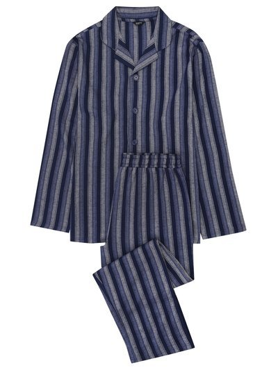 Striped cotton pyjama set