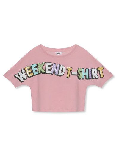 Weekend slogan t-shirt (3-12yrs)