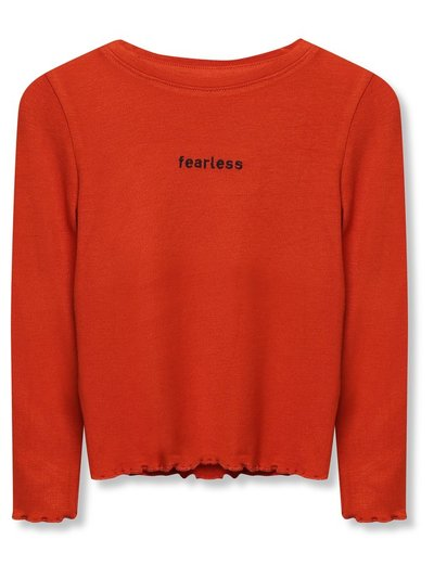 Fearless slogn t-shirt (3-12yrs)