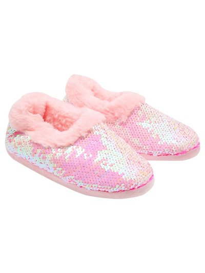 Two way sequin slippers