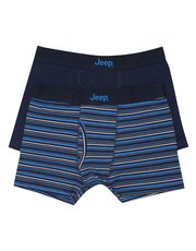 Jeep Stretch Cotton Trunks Two Pack