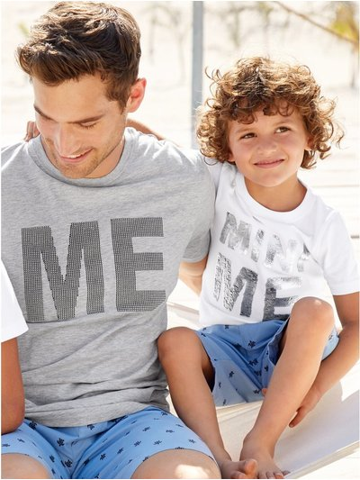 Mini me two way sequin t-shirt (3-13yrs)