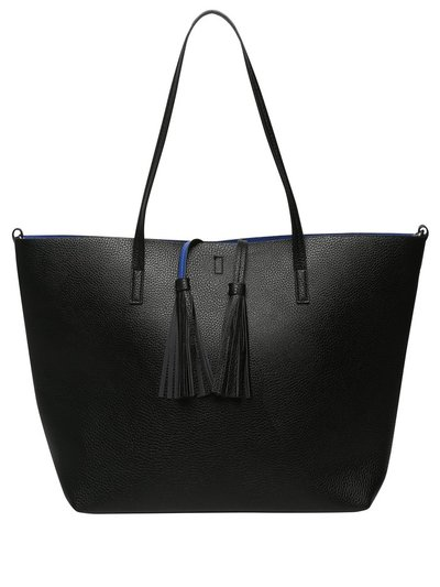 Tassel shopper bag