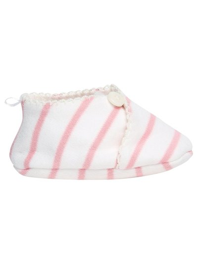 Baby stripe booties (newborn-12mths)