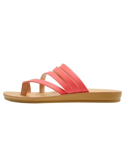 Swirly multi strap sandal
