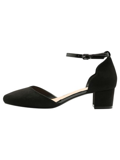 Cellie block heel ankle strap heel