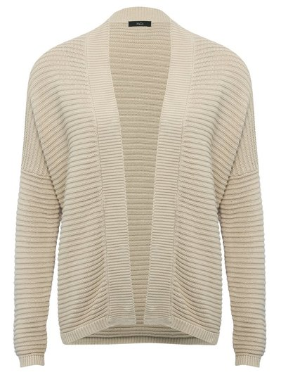 Ribbed crop cardigan