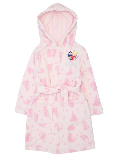 Disney princess fleece robe (2-8yrs)