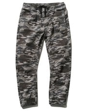 Camouflage cuffed trousers