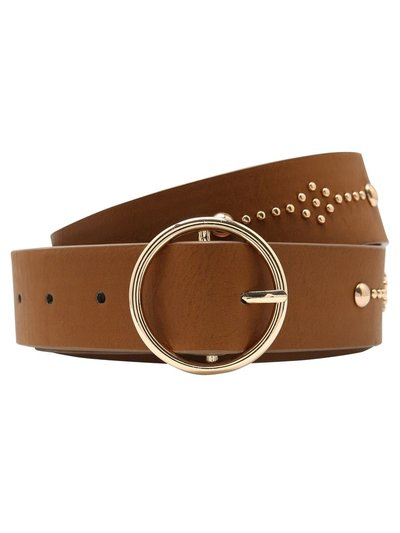 Studded ring belt