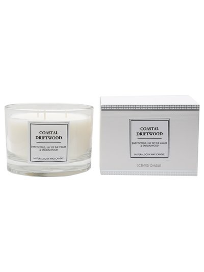 Three wick scented candle