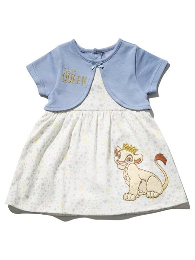 Disney Lion King mock cardigan dress (Newborn-2yrs)