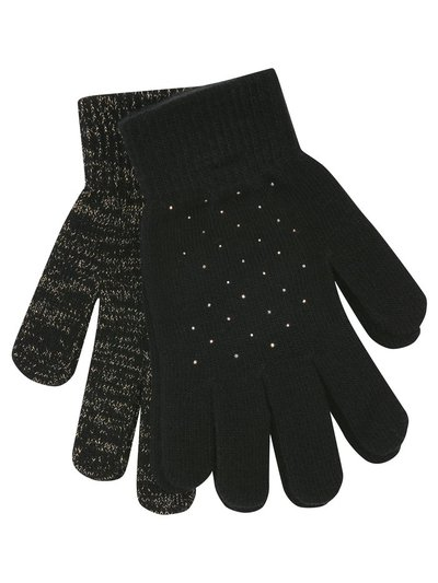 Teen embellished gloves two pack