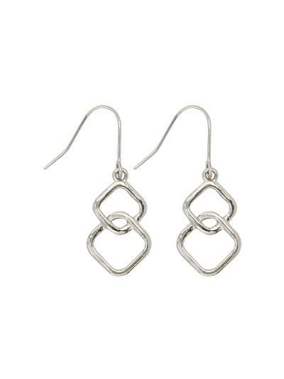 Squares drop earrings