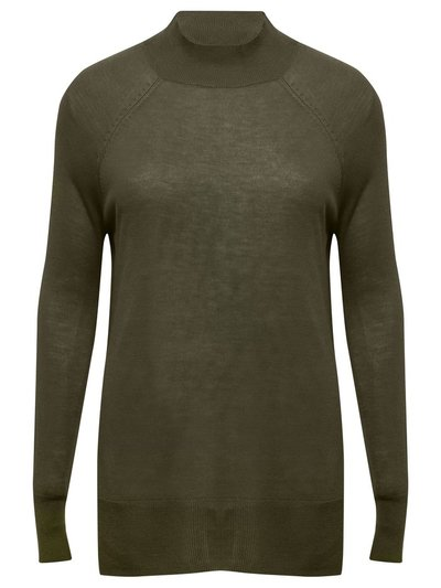 Lightweight funnel neck jumper