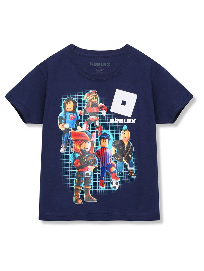 Blue Plaid T Shirt Roblox Roblox T Shirt 3 13yrs Kids Tops And T Shirts M Co