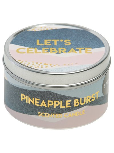 Pineapple burst scented candle