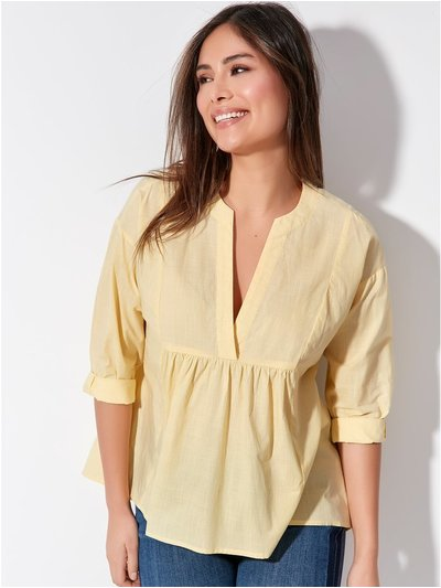 Khost Clothing peplum front shirt