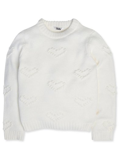 Love heart jumper (3-12yrs)