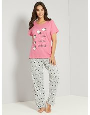 Sheep print pyjama set