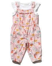 Campervan print playsuit and top set
