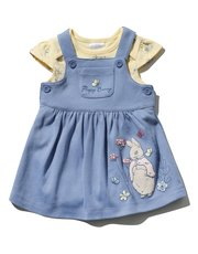 Peter Rabbit pinny dress and bodysuit set