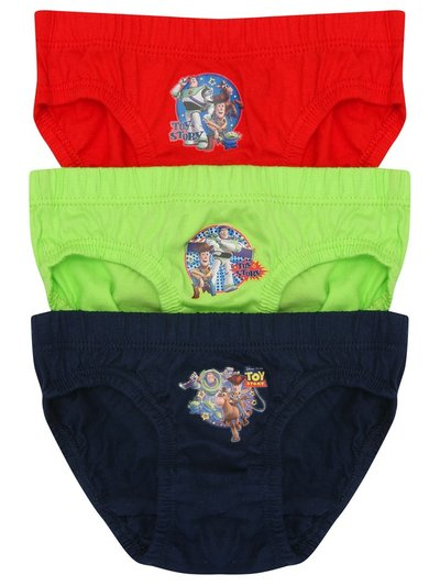 Disney Toy Story briefs three pack (2-5yrs)