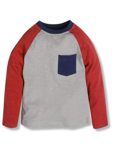 Colour block tee (9mths-5yrs)