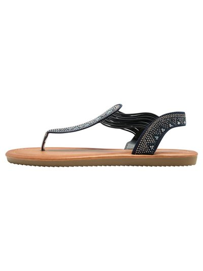 Stilo diamante elasticated sandal
