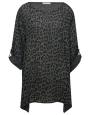 LV Clothing leopard print top