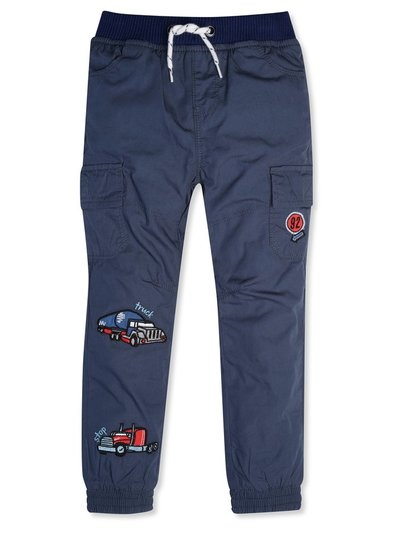 Truck embroidered cargo trousers (9mths-5yrs)