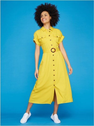 Khost Clothing midi shirt dress