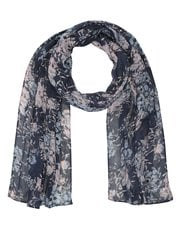 Pretty floral lightweight scarf