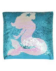 Mermaid flip sequin cushion