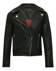 Teen pu biker jacket