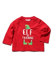 Elf in training Christmas t-shirt