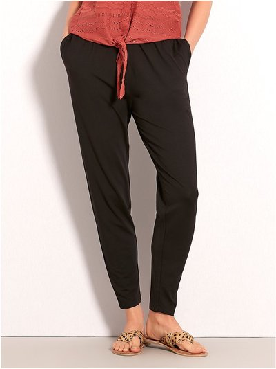Plain harem trousers