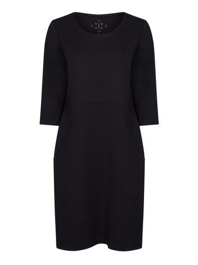 VIZ-A-VIZ round neck dress