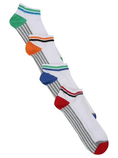 White trainer socks four pack