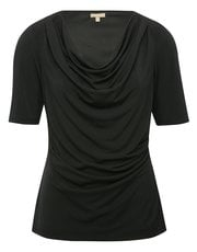 Cowl neck half sleeve top